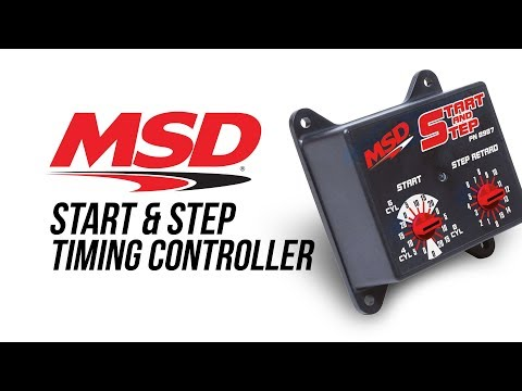 MSD Start & Step Timing Control