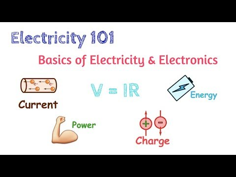 Basics of Electricity and Electronics #1 | Voltage, Current and Power | Electricity 101