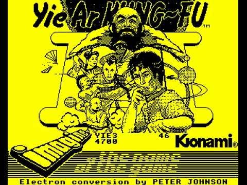 Yie Ar Kung Fu 2 by Imagine on the Acorn Electron
