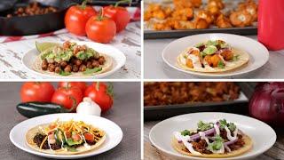 Meatless Tacos 5 Ways