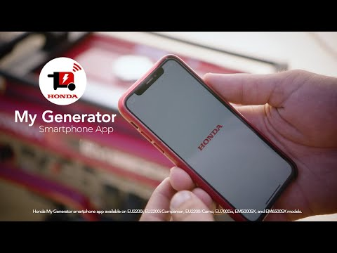 Honda Power Equipment EU7000iS with CO-MINDER in Greenville, North Carolina - Video 2