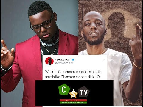 "KO-C "" Your Breath Smells Like Sarkodie's D**k "" Jovi Tweets."