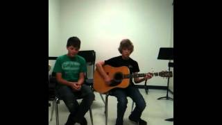 3 doors down be somebody acoustic cover