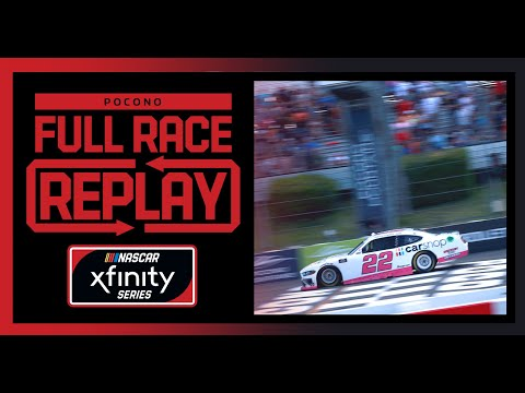 NASCAR NASCAR カップシリーズレース at ポコノ1(ポコノ・レースウェイ)Xfinity レースフル動画