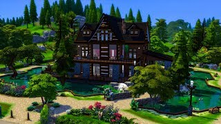 The Sims 4    Speed Build    Windenburg Lakehouse
