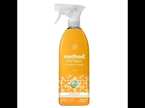 How To Clean & Disinfect a Sink w/ Natural Products | Method Antibac All Purpose Cleaner Review