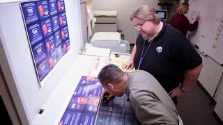 McAdams Graphics Print Facility Tour In Oak Creek, Wisconsin