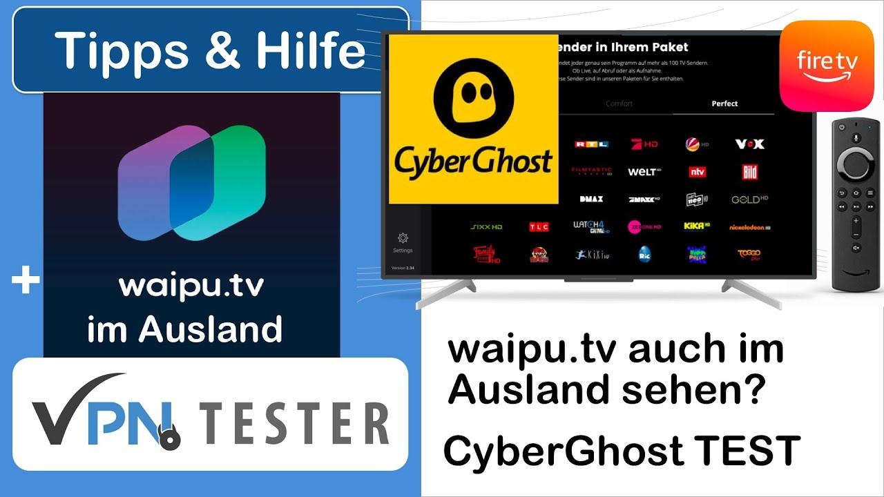 Test: Welcher VPN geht mit waipu.tv im Ausland? 1