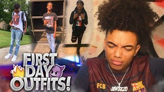 RATING MY SUBSCRIBERS FIRST DAY OF SCHOOL OUTFITS! 🔥 (STRAIGHT HEAT!)