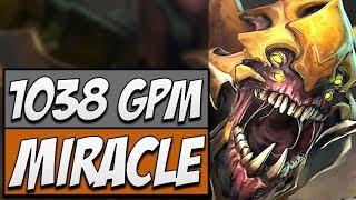 Liquid.Miracle Sand King - 9128 MMR | Dota 2 Gameplay