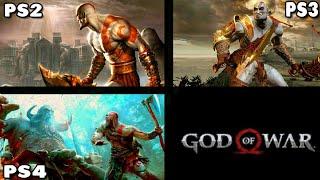 god of war 1 ps2 vs ps3 vs ps4 - TH-Clip