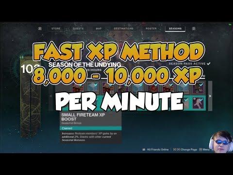 Fast XP Farm Method (8,000 - 10,000 XP per Minute) [Destiny 2 Shadowkeep]