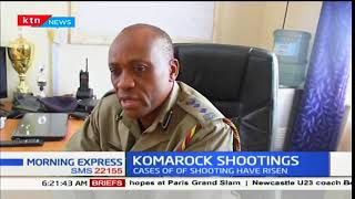Unknown gunmen shoot a police officer in Kayole area