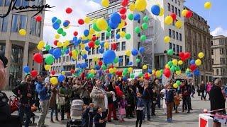 Shanaya  Rot Gelb Grün Blau Die Bunten Gesichter Der Stadt Hannover