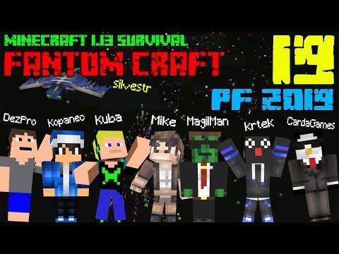 OHŇOSTROJ! Minecraft survival 1.13.2! #19 |FANTOM CRAFT| /wFantomCrew #silvestr