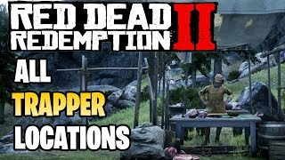 Red Dead Redemption 2 - All Trapper Locations