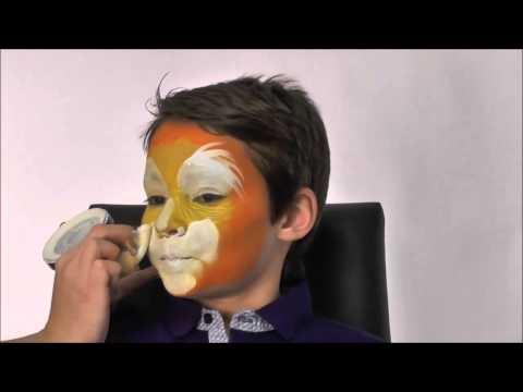 Maquilhagem de tigro para Carnaval