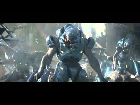 Космические спартанцы ( игрофильм Halo ) онлайн видео