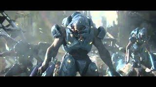 Космические спартанцы (фантастика про инопланетян) HD