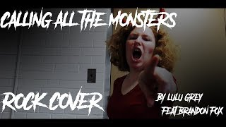 Calling All the Monsters - China Anne McClain cover [ROCK EDITION] (feat. Brandon Fox)