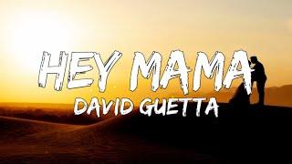 David Guetta - Hey Mama (Lyrics) ft.Nicki Minaj   - YouTube