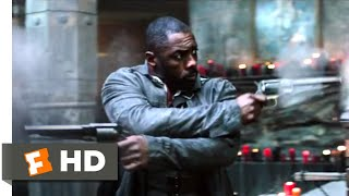 The Dark Tower (2017) - The Dixie Pig Shootout Scene (9/10) | Movieclips