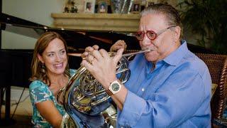 Arturo Sandoval takes the Sarah's Music Horn Challenge