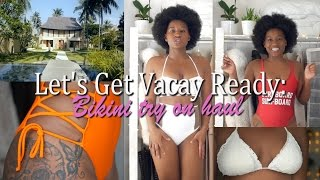 Let's Get Holiday Ready: HUGE Bikini Try On Haul + Coverups/dresses| ASOS, PRIVATE PARTY, OYSHO,