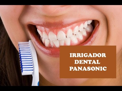 Irrigador dental Panasonic - Un modelo portátil