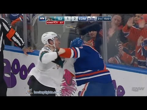 Adam Larsson vs. Jannik Hansen