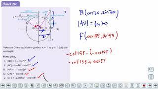 Eğitim Vadisi 11.Sınıf Matematik 2.Föy Trigonometrik Fonksiyonlar 3 Konu Anlatım Videoları