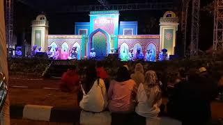 Marawis Al Munawar - Ya Rabbi Antal Hadi @Masjid Raya Al A'azhom