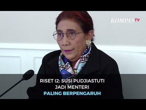 Riset I2: Susi Pudjiastuti Jadi Menteri Paling Berpengaruh di Twitter