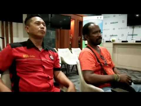 Karyawan korban PHK dan Furlough oleh PT Freeport mendatangi Kantor Pusat BPJS kesehatan