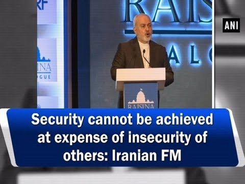 Security cannot be achieved at expense of insecurity of others: Iranian FM