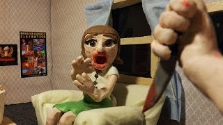 Crimson Screen Horror Claymation