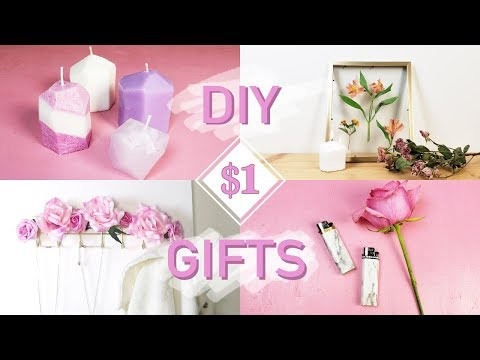DIY $1 DOLLAR STORE CHRISTMAS GIFTS (that are actually cute!) | DIY | Nava Rose