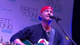 Brett Young Reason to Stay VIP Accoustic