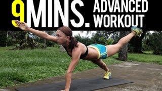 9 Minutes Advanced Workout - Rebeca Martinez