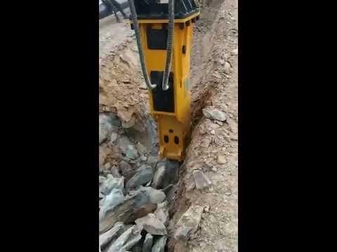 YIB 1350 Hydraulic Rock Breaker