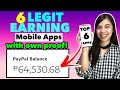 TOP 6 LEGIT & HIGHEST EARNING APPS: I Earned P64,530 FREE | WITH OWN PROOF FREE GCASH & PAYPAL MONEY
