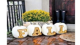 2017 Thanksgiving Front Porch Decorating Ideas 5