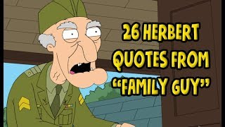 26 Herbert Quotes From Family Guy