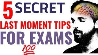 5 Secret Tips For Exam to Score Highest Marks (Hindi) Study Tips