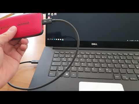1,48GB/s Echte Werte die schnellste  Samsung Portable SSD X5 500 GB Thunderbolt 3 bis zu 2.800 MB/s