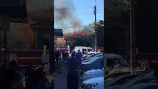 Пожар Куйбышева Димитровград