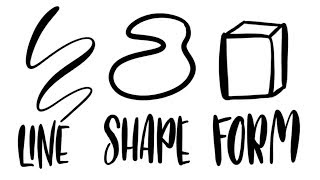 Design Elements Line, Shape, & Form // Sample Lesson