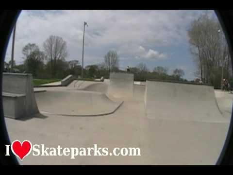 iLoveSkateparks.com Tour - Infinity Skatepark - Bay City, MI