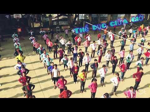 Học sinh trường PTDTBT THCS Thạch Lâm cùng với các hoạt động thường ngày