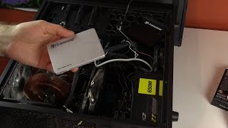 Installing the Transcend 256 GB SSD!